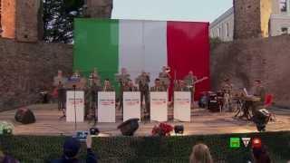 Santa Croce Effetto Notte - Concerto della Army Jazz Band - www.HTO.tv