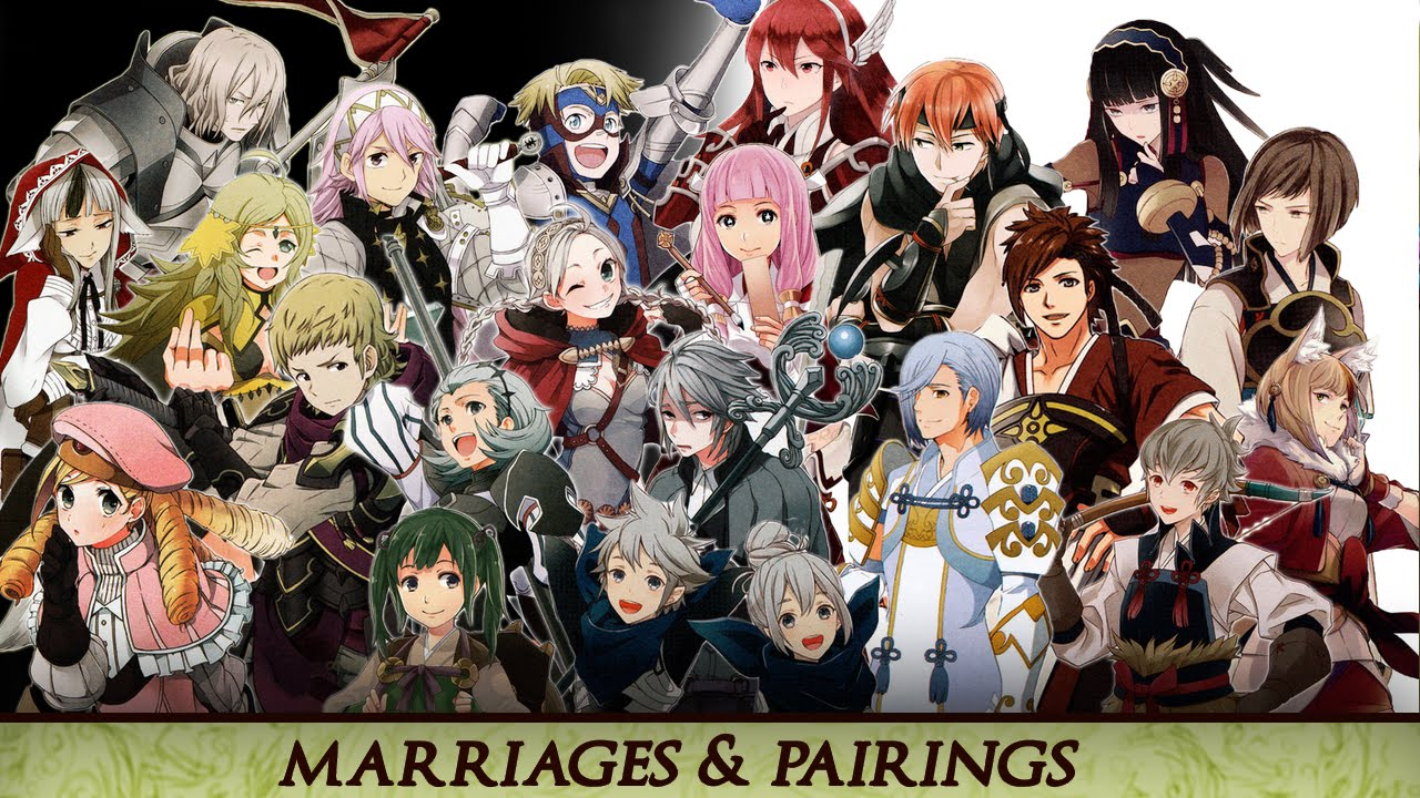 Fire Emblem: Fates - My Marriage Pair Ups (S - Supports)! | RasouliPlays