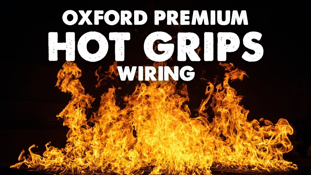 Bikemaster Heated Grips Wiring Diagram Relay Hot Oxford Premium Part 5 Youtube On