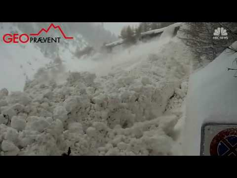 Killer Avalanche In Zermatt (2018)