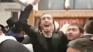 תיעוד: חרדים פרצו והפריעו לתפילה בבית כנסת בירושלים