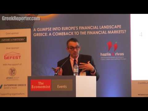 Investor Paul Kazarian on Why Greece's Debt is Less: Economist Conference