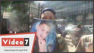 بالفيديو.. تظاهر أهالى مهاجرين غير الشرعيين أمام البرلمان للمطالبة بمعرفة مصير أبنائهم