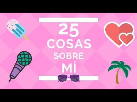 25 COSAS SOBRE MÍ |Makeup Panamanian Girl|