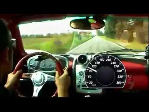 Pagani Zonda F ClubSport acceleration
