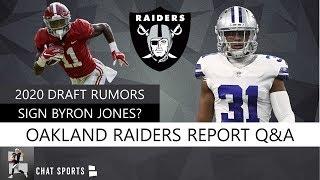Raiders Rumors On 2020 NFL Draft, Free Agency Targets, Josh Jacobs, Derek Carr & Maxx Crosby