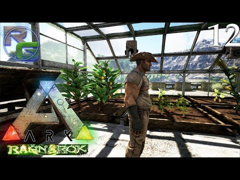 Ark: Survival Evolved Ragnarok - Fully Automatic Farming! - Ep 12