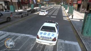 PC GTA IV LCPDFR Police Mod ELS NYPD HD Gameplay