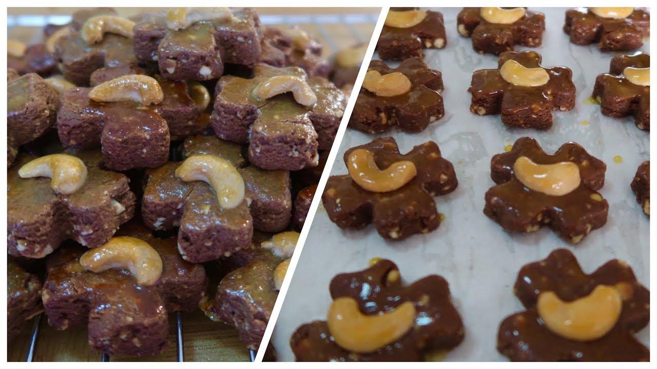 Cara Membuat Kue Kering Coklat Kacang Mete Bumbu Spekkoek Spekuk