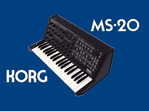 KORG MS-20 Analog