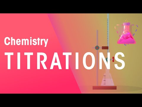 Play video: How To Do Titrations | Chemical Calculations | Chemistry | FuseSchool