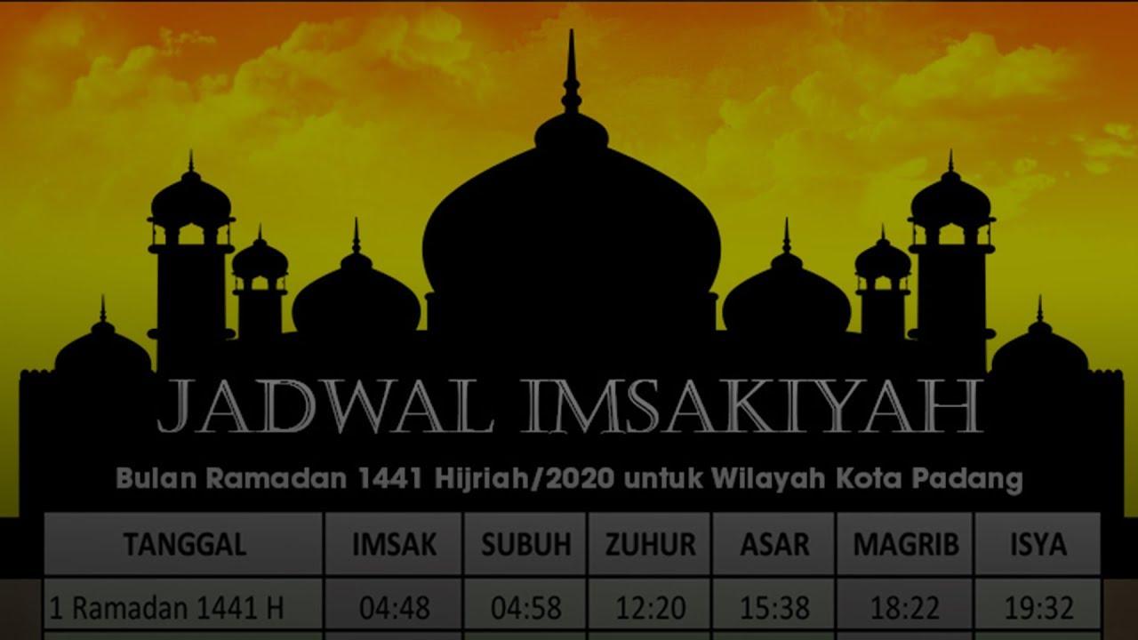 Jadwal Imsakiyah Ramadan 2020/1441 H, Waktu Berbuka dan ...