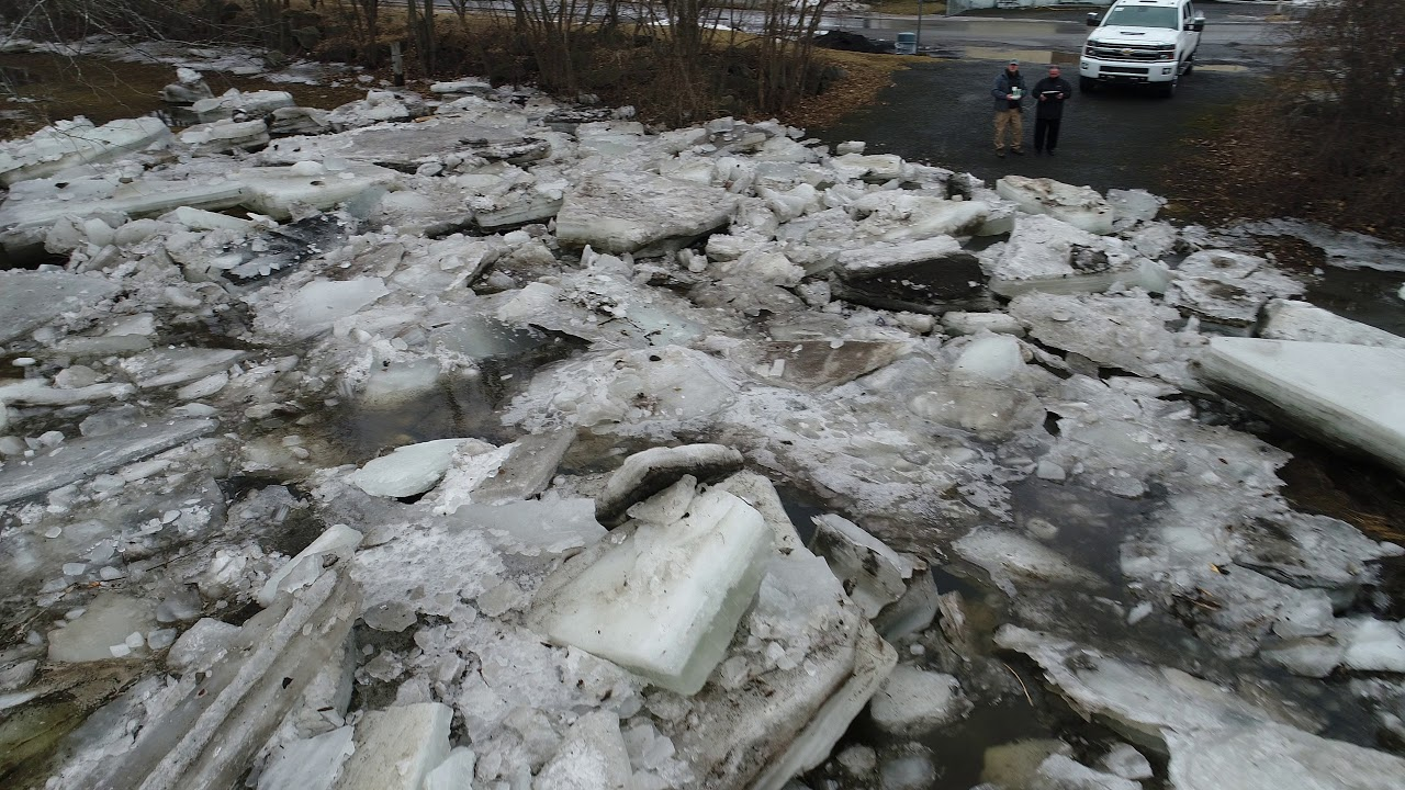 City of Plattsburgh Saranac River Ice Jam C