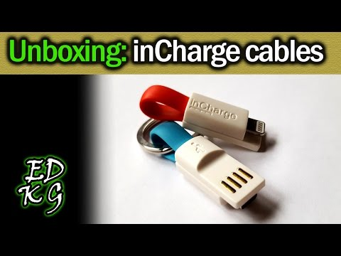 Unboxing: inCharge mini cables (USB & Lightning)