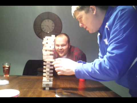 Best Jenga game ever!!!!
