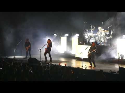 Megadeth - The Threat Is Real / Dread and the Fugitive Mind - live in Zurich 17.02.2020