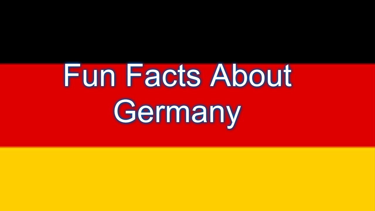 Fun Facts About Germany - YouTube