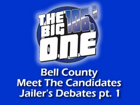 Bell County Meet The Candidates Jailer's Debate pt 1