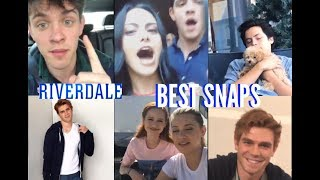 RIVERDALE SNAPS ft COLE SPROUSE, KJ APA, CASEY COTT, CAMI MENDES & More! COMPILATION