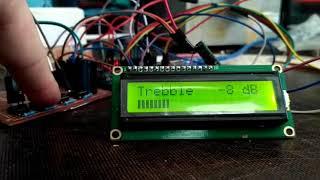 Регулятор тембра и громкости на PT2313 (Arduino)