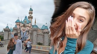 MY FIRST DISNEY LAND EXPERIENCE  *boyfriend surprised me!!*