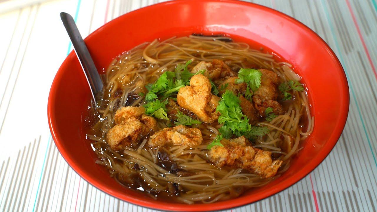 素食麵線比葷的還好吃 Super cheap! The vegetarian noodles are better than meat dishes│New Taipei City, Taiwan