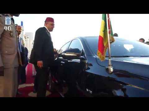 زيارة سيادة الرئيس السينيغالي ماكي سال للمملكة المغربية