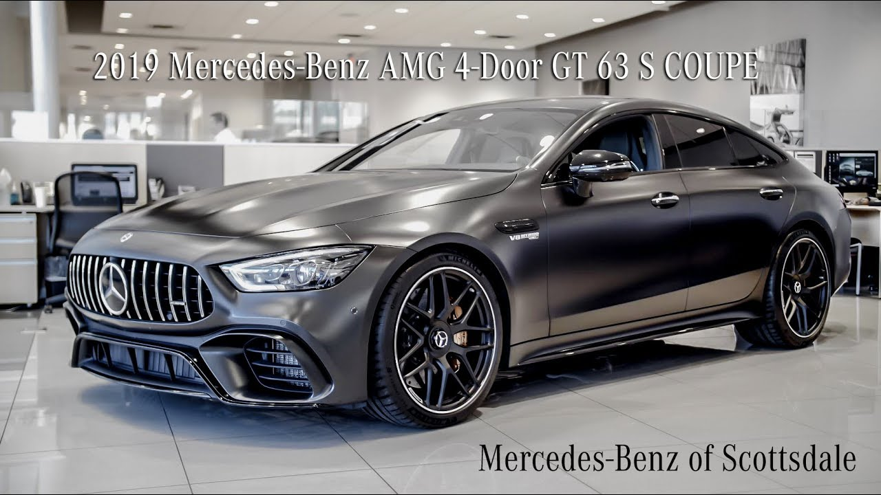 the 2019 mercedes‑benz amg gt 4‑door gt 63s coupe review from