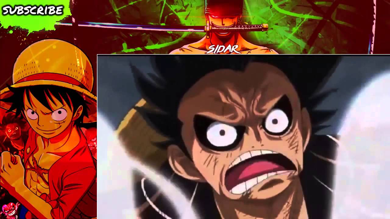 Luffy tumbuh menjadi remaja dan merekrut beberapa. Luffy Gear 4 (fourth) Boundman - One Piece Episode 726 ...
