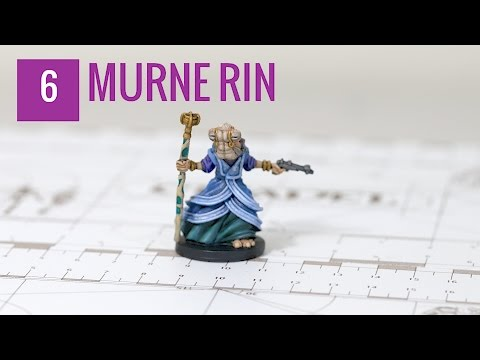 Star Wars Imperial Assault Painting Tutorial (Episode 6): Murne Rin