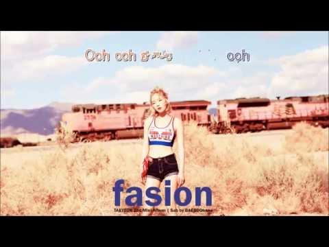 Free Download [karaoke - Thaisub] Taeyeon - Fashion Mp3 dan Mp4
