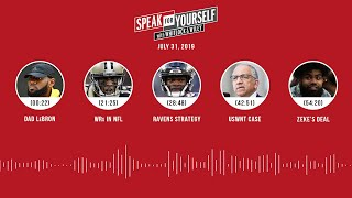SPEAK FOR YOURSELF Audio Podcast (7.31.19) with Marcellus Wiley, Jason Whitlock | SPEAK FOR YOURSELF