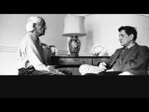 J. Krishnamurti & David Bohm - Brockwood Park 1972 - Dialogue - On intelligence