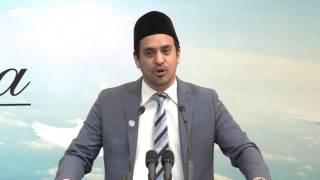 Introduction to the Guests   Amjad Khan   Jalsa Salana West Coast USA 2015
