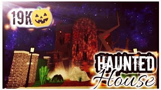 19k | Abandoned Haunted House| Roblox Welcome to bloxburg (built in mobile)