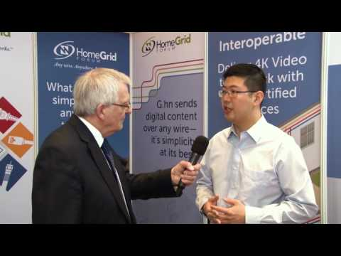 Interview with HomeGrid @ CommunicAsia2017
