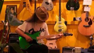 ex.もんた&ブラザーズ 高橋マコト氏による試奏 カスタムギター屋ジャッ...