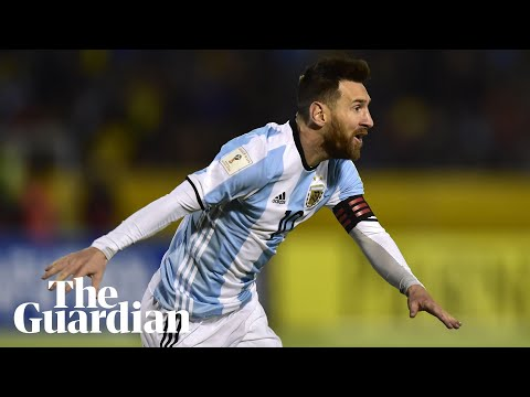 Messi hat-trick secures World Cup place for Argentina
