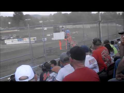 5 Mile Point Speedway - July 12, 2016 - Modified Qualifying Heats