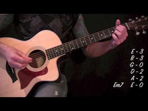 Stone Temple Pilots - Creep - Acoustic Guitar Lesson