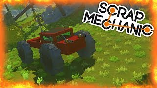 ⚡ ARMATOWY MONSTER TRUCK!⚡ SCRAP MECHANIC #6