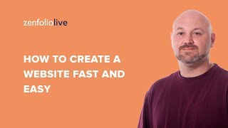 How to create a website that wows Part 1 basic set up - Zenfolio Live E100