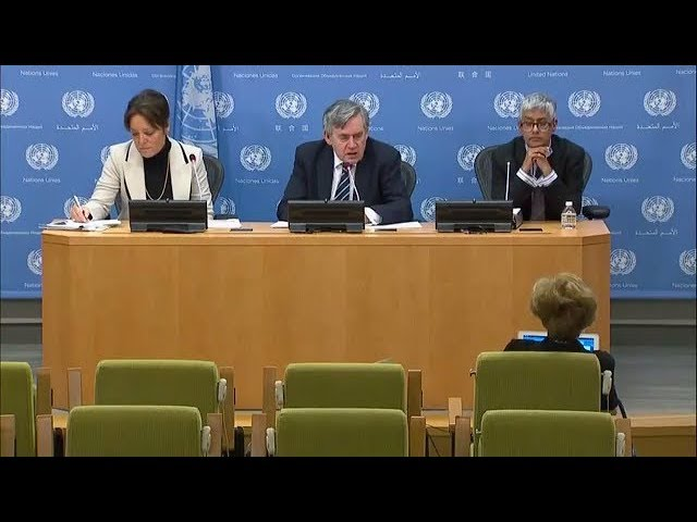 Gordon Brown and Yasmine Sherif on Global Education - Press Conference (13 December 2017)