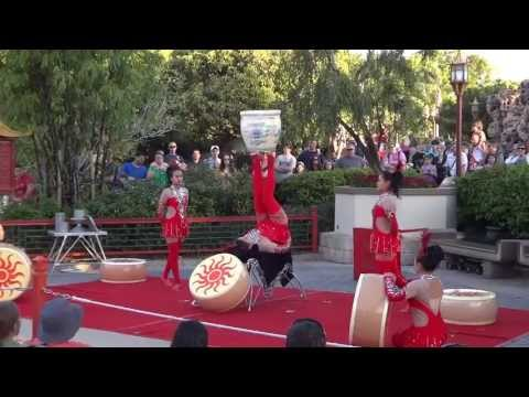 Epcot Center Chinese Acrobats