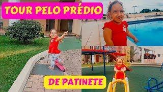 TOUR PELO PRÉDIO DE PATINETE | BUILD TOUR