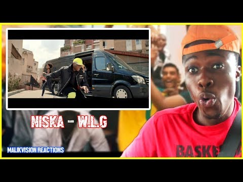 NISKA REACTION! - NISKA W.L.G REACTION |  2018 FRENCH RAP REACTION