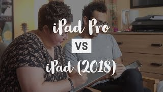 iPad Pro vs iPad (2018) comparison for college / university students