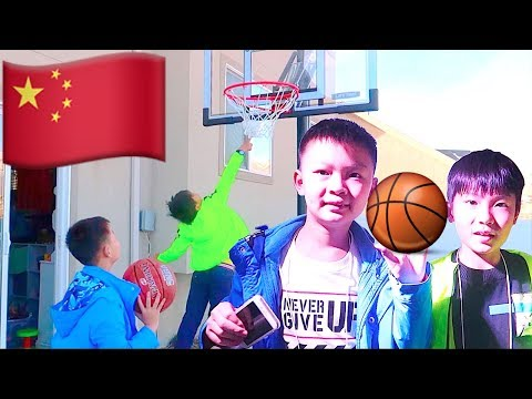 🏀Chinese Kids Play Basketball for the FIRST TIME!🏀
