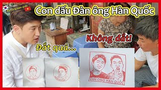 Handmade stamp with you face???