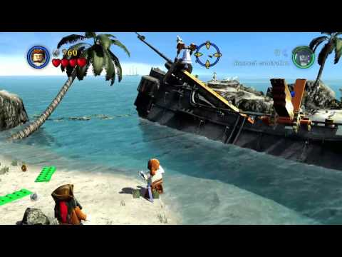 Lego Pirates of the Caribbean: Wind in your Sails Achievement Guide